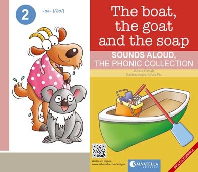 THE BOAT,THE GOAT AND THE SOAP | 9788417091941 | CANALS BOTINES, MIREIA