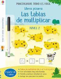 LIBROS PIZARRA TABLAS DE MULTIPLICAR 2 | 9781474971720 | BATHIE, HOLLY